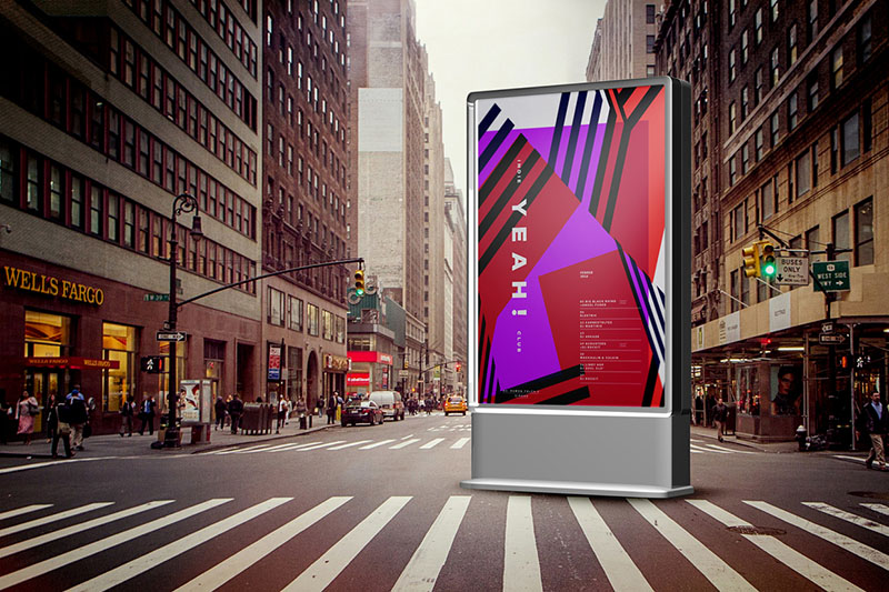 premium outdoor advertising billboard mockups psd for sale
