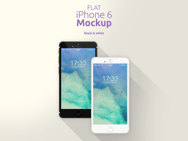 best iphone 6 psd mockups download