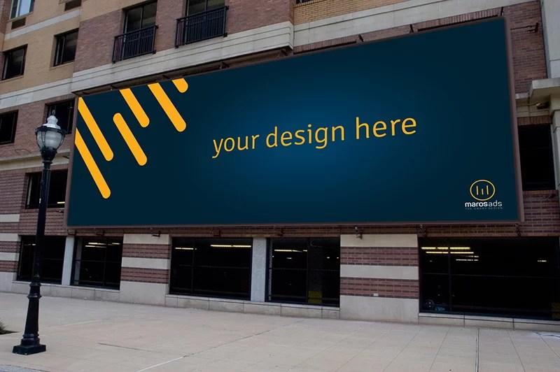 Billboard Graphic Design For Store