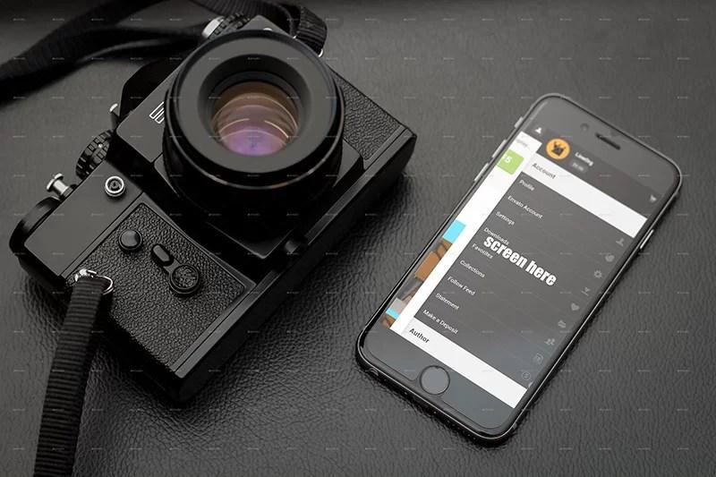 best photorealistic premium iphone 6 mockup psd