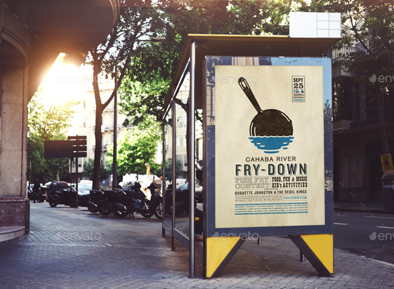 best premium outdoor advertising billboard mockups psd