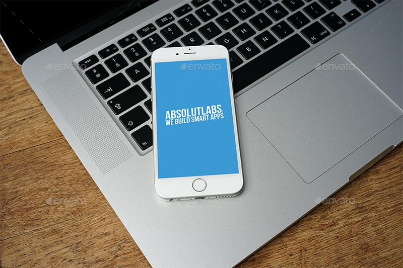 unique premium real iphone 6 mockup psd