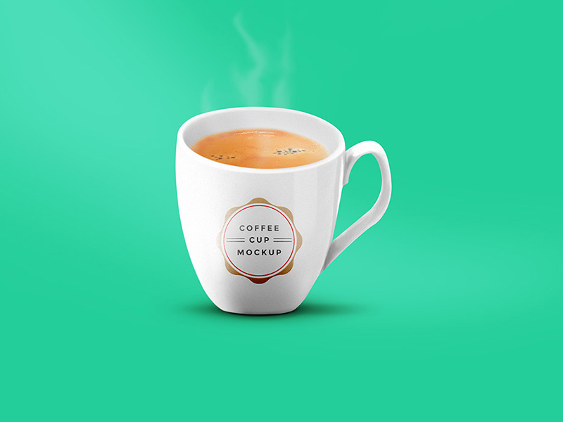 unique coffee cup mockup psd free download
