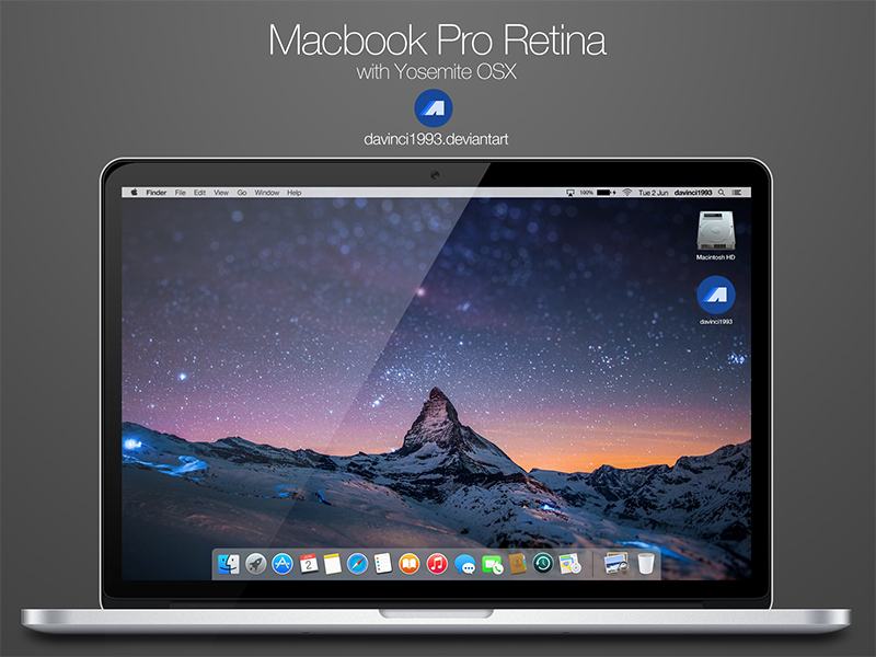 nicest MacBook Pro Mockup template in PSD