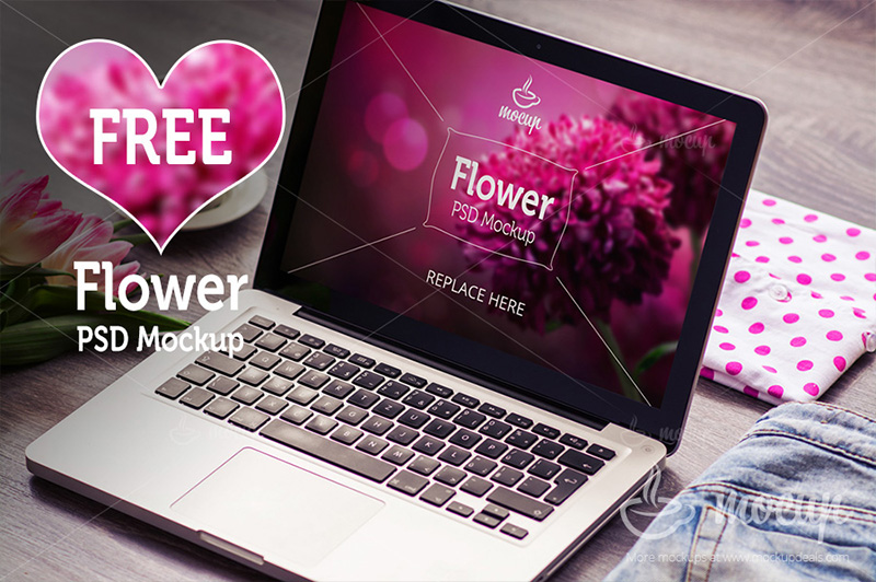 modern MacBook Pro Mockup free download