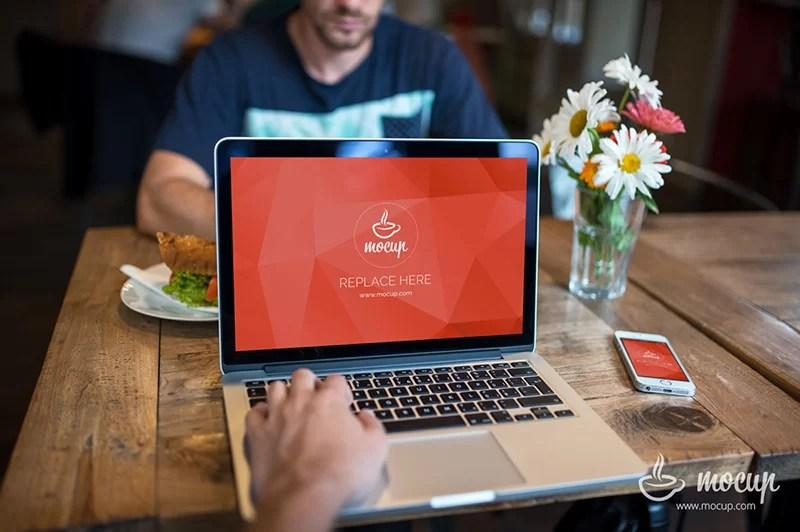 unique MacBook Pro Mockup free download