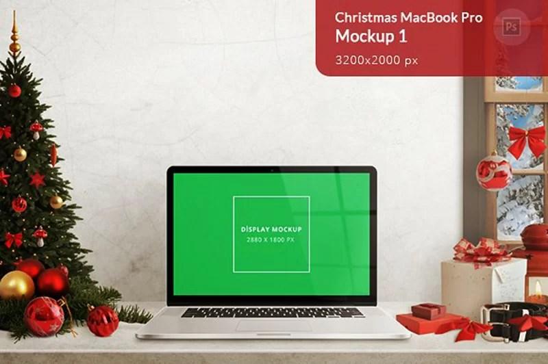 macbook pro premium mockup free psd