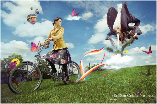 Et Dieu Crea la Nature  by Cafe Clope 500x333 19 Highly Creative Photo Manipulation Featuring Human and Nature