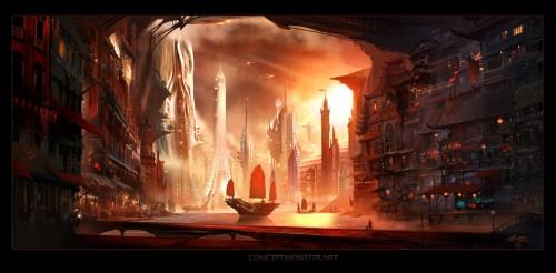 future harbor by tarrzan d4qzxv9 500x246 Imagination Unleashed: Best of PSD Vault DeviantART Group – Vol. 25