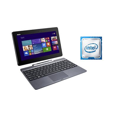 Brand New: ASUS Transformer Max T100TAM Intel Atom Laptop 10.1 Inch 2 GB RAM 500 GB Hard Drive