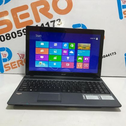 Slim Acer Aspire 5250 Laptop – Dual Core – 4GB Ram – 500GB HDD – 14.6 inch – Very Fast Processor Speed