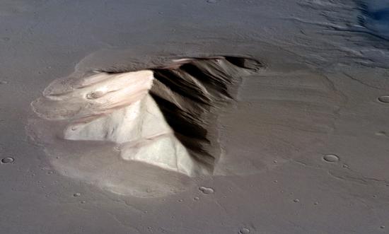 Lobate Debris Apron, Mars