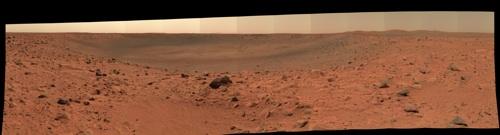 Bonneville Crater, Mars