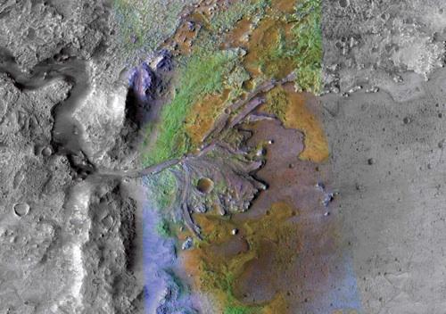 Nili Fossae, Mars