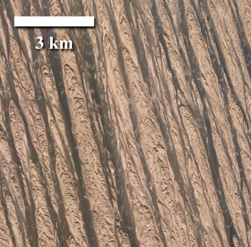 The Lut Desert, Iran, Earth
