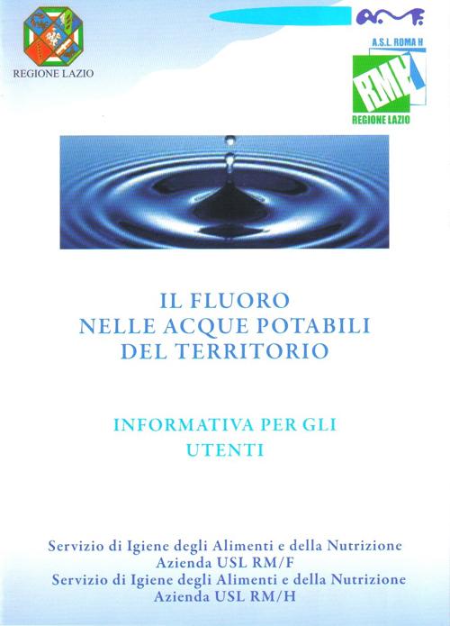 opuscolo sulle condizioni dellacqua  (presso il Comune di Ciampino)