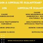 Differenze tra diagnosi DSA e difficoltà negli apprendimenti scolastici
