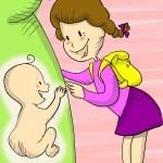 gelosia, primogeniti, sorelle, fratelli, bambini