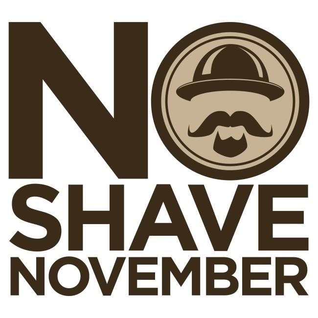 Símbolo da Campanha No Shave November