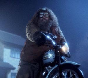 Hagrid con la motocicletta - Psicologorroico