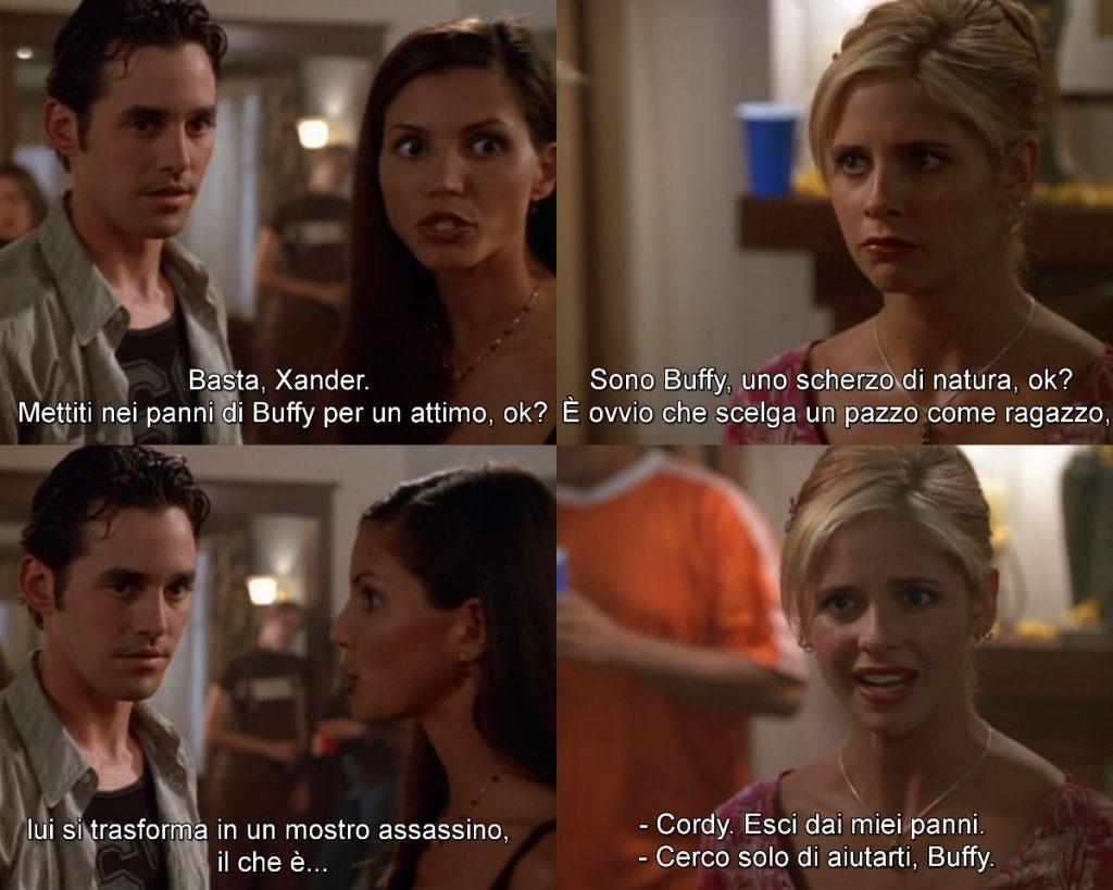 Buffy the vampire slayer - terza stagione screenshot - Buffy and Cordelia- Psicologorroico