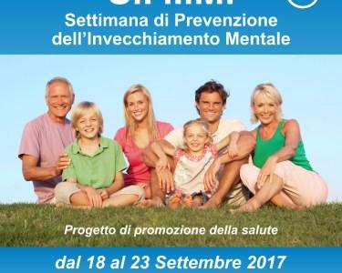 S.P.I.M. – Settimana di Prevenzione dell' invecchiamento Mentale