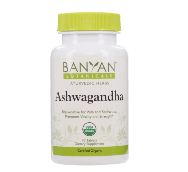 Ashwagandha (organic) 500 mg - 90 tablets by Banyan Botanicals 1