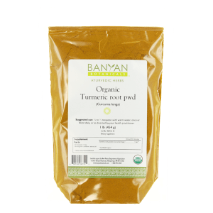 Turmeric powder - 1 lb (organic) - Banyan Botanicals