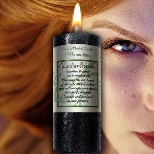 Guardian Protector - Blessed Herbal Affirmation Candle