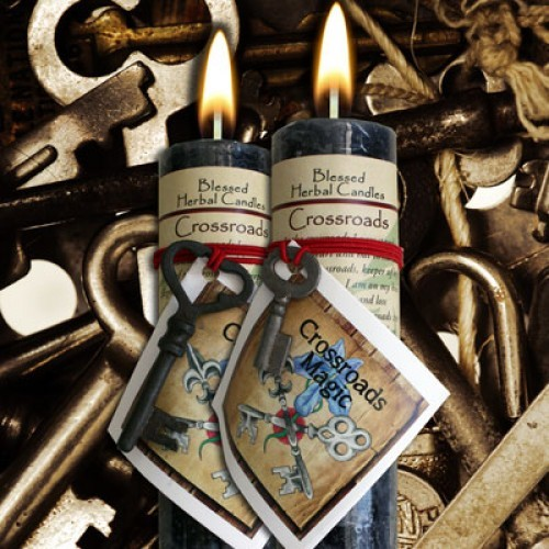 Crossroads - Blessed Herbal Candle - Limited Edition
