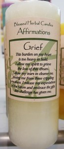 Blessed-Herbal-Grief-Affirmation-Candle
