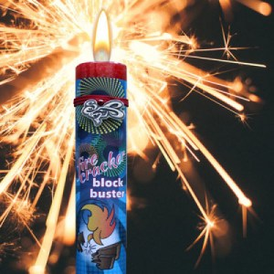 Firecracker - Blessed Herbal Candle