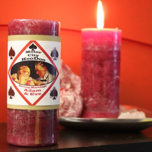Adam and Eve Couples - Motor City Hoo Doo Candle
