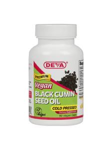 Vegan Black Cumin Seed Oil - 90 vegcaps - DEVA