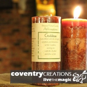 Goddess - Affirmation Candle