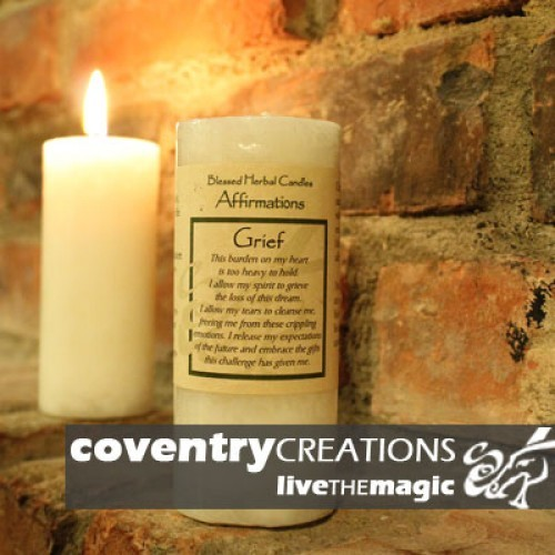 Grief - Affirmation Candle