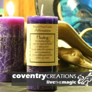Healing - Affirmation Candle
