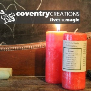 Love - Blessed Herbal Affirmation Candle