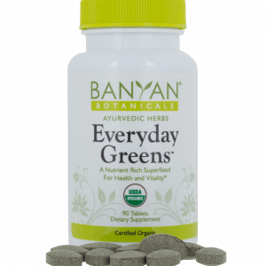 Everyday Greens Tablets Organic 180 tabs by Banyan Botanicals