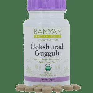 Gokshuradi Guggulu 300 mg 90 tabs - Banyan Botanicals
