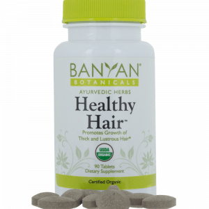 Healthy Hair 90 tabs by Banyan Botanicals