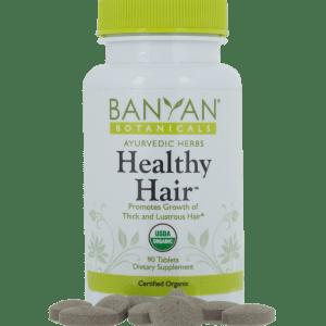Healthy Hair 90 tabs by Banyan Botanicals