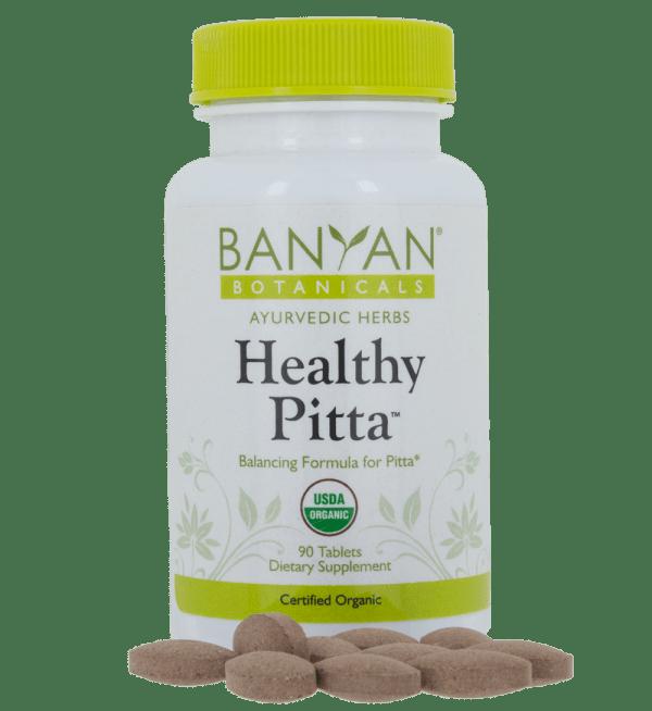 Healthy Pitta, 90 tabs - Banyan Botanicals
