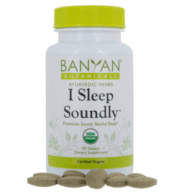 I Sleep Soundly, 90 tabs - Banyan Botanicals