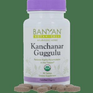 Kanchanar Guggulu 300 mg 90 tabs - Banyan Botanicals