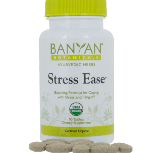 Stress Ease tablets by Banyan Botanicals