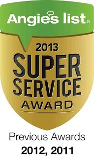 Psinergy TechWarrior St Paul Earns Esteemed 2013 Angie's List Super Service Award