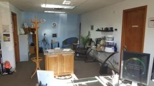 Reception & Client Waiting area