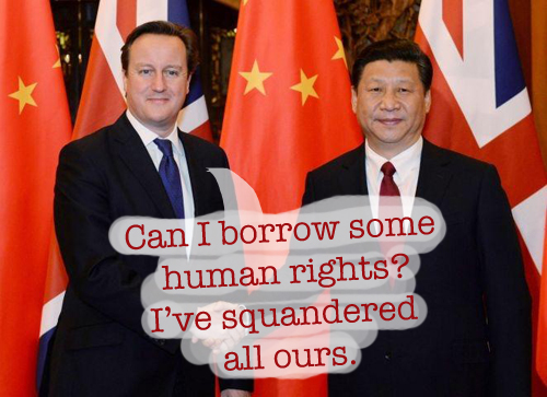 Xi Jinping, David Cameron, and Chris Page author