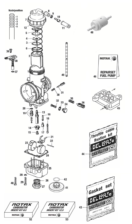 Carburetor Psl Karting Store